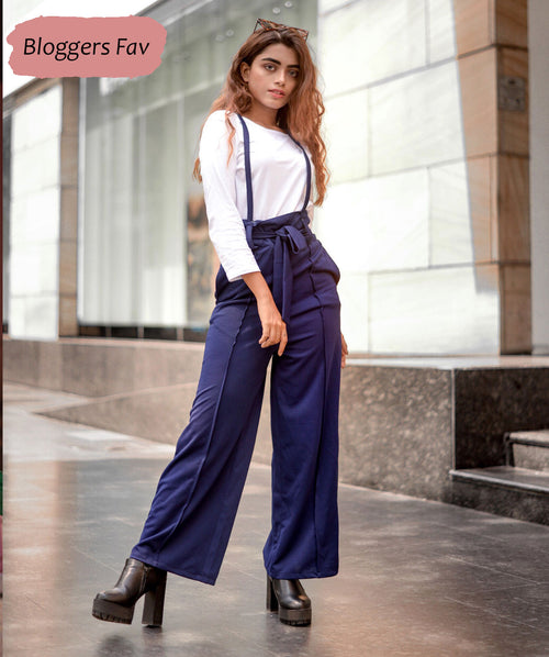 Regular Fit Casual Belted Two Piece Dungaree - Raaika Clothing