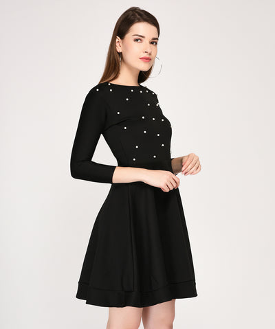 The Ebony Shine Ultimate Dress