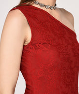 Lace O' Shoulder Dress