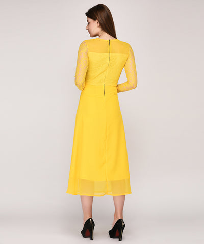The Girl In Yellow Dress