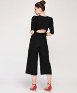 THE PUFFY SLEEVE JUMPSUIT