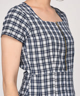The COMFORTABLE CHECKS Dress