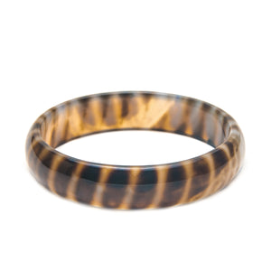 Stone Bangle Tiger Stripe Agate bracelet