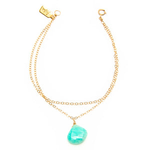 Double Chain Amazonite Bracelet