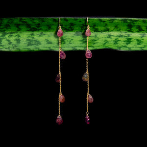Tourmaline Chandelier Earring