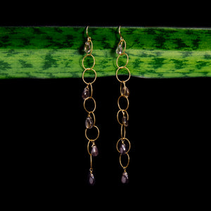 Andalusite Chandelier Earrings Chandelier