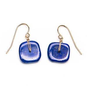Square Lapis Earrings
