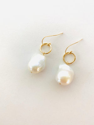 JAPANESE PEARL DROP EARRINGS
