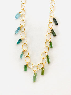 TOURMALINE FLIGHT NECKLACE
