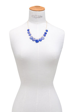 Square Lapis Necklace