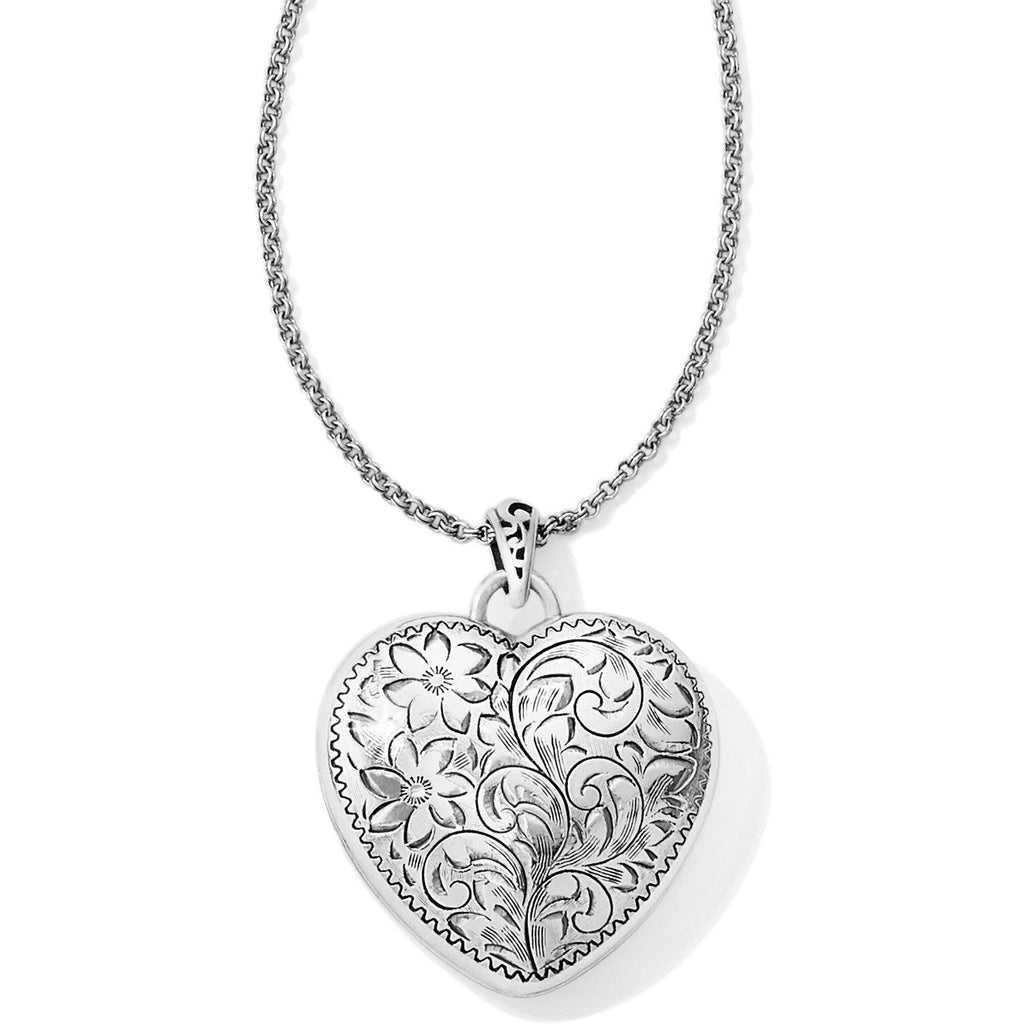 Timeless Heart Convertible Locket Necklace - Johnathan Michael's Boutique