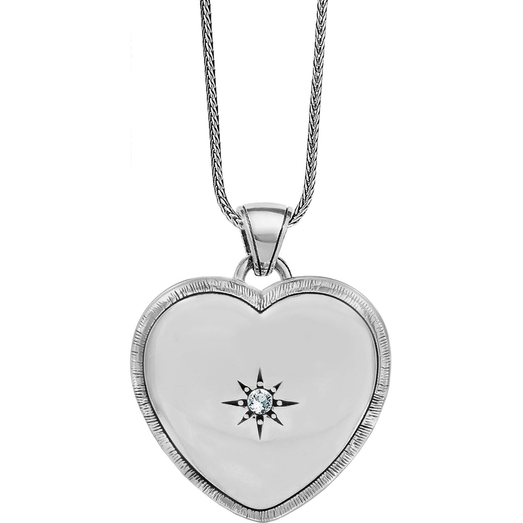 Bright Morning Star Locket Necklace - Johnathan Michael's Boutique