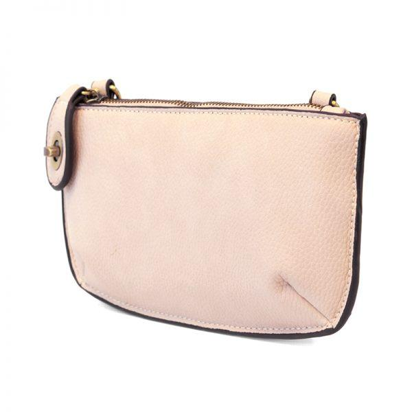Eggshell Pink Mini Crossbody Wristlet Clutch Apparel & accessories Joy Susan