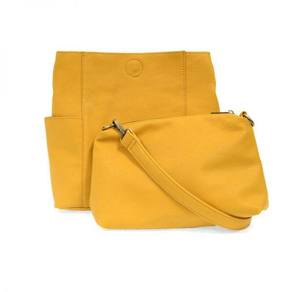 Sunflower Kayleigh Side Pocket Bucket Bag Apparel & accessories Joy Susan