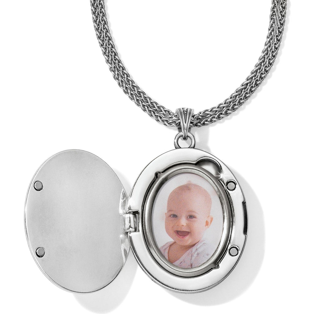Intrigue Convertible Locket Necklace - Johnathan Michael's Boutique