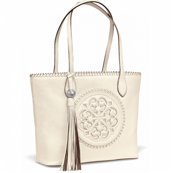 Gabriella Medallion Tote H35432 - Johnathan Michael's Boutique