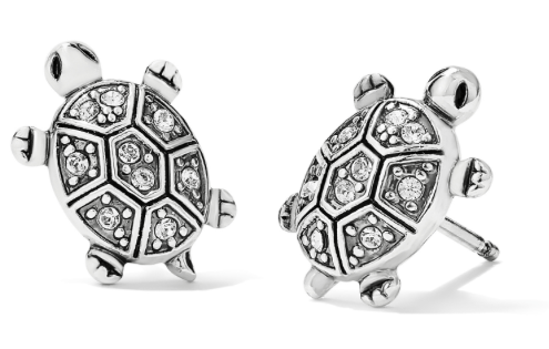 Fortune Turtles Mini Post Earrings J22311 - Johnathan Michael's Boutique