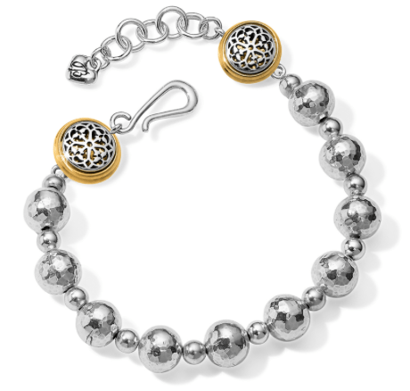 Ferrara Hammered Bead Bracelet JF6952 - Johnathan Michael's Boutique