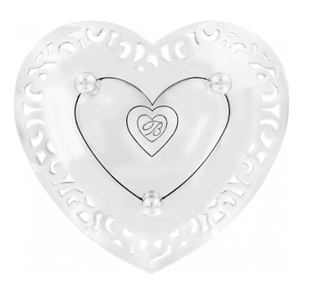 Lacie Daisy Trinket Tray G50090 - Johnathan Michael's Boutique