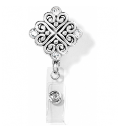 Alcazar Clip-On Badge Clip J50651 - Johnathan Michael's Boutique