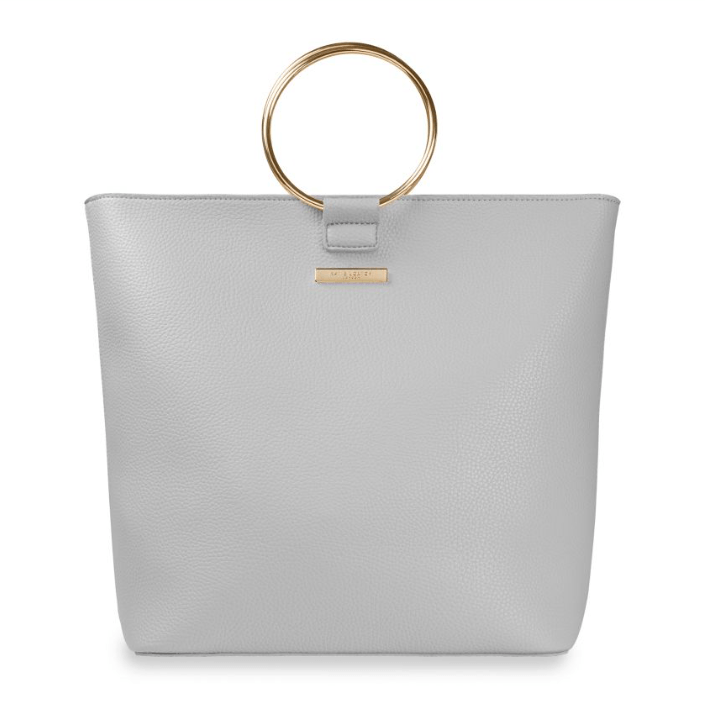 SUKI TOTE BAG | PALE GRAY