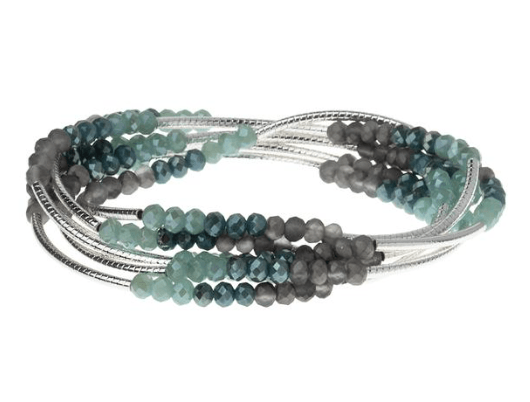 Enjoy Every Moment Wrap Bracelet/Necklace