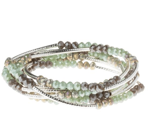You are some kind of wonderful wrap bracelet/necklace
