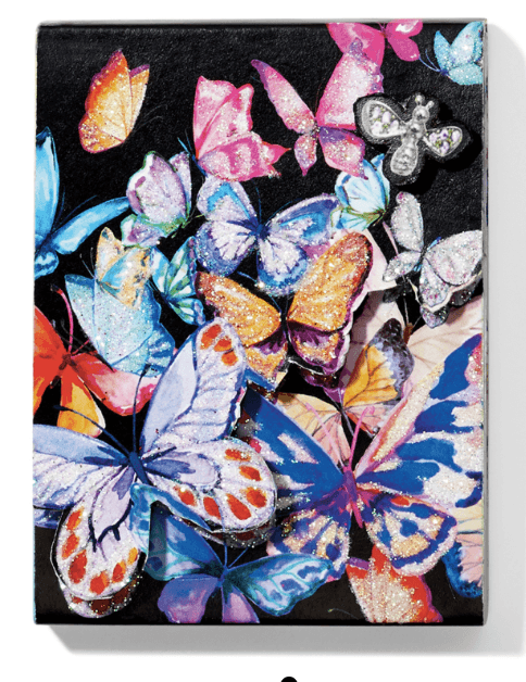 Enchanted Garden Butterfly Notepad G8298M - Johnathan Michael's Boutique