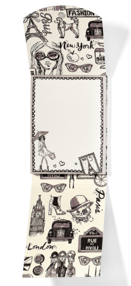 Fashion Passport Pocket Notepad G82420 - Johnathan Michael's Boutique
