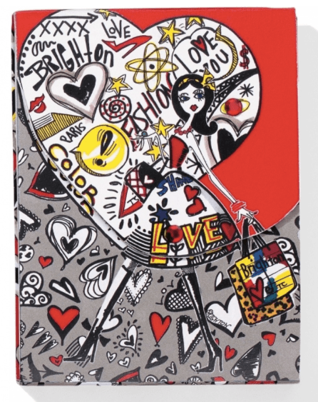 Fashionista Graffiti Notepad G82330 - Johnathan Michael's Boutique
