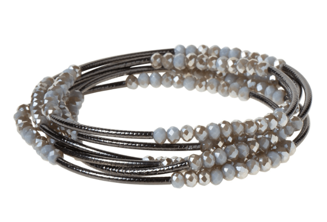Shine Wrap Bracelet/Necklace - Johnathan Michael's Boutique