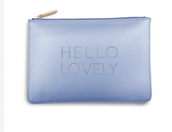 Hello Lovely / Pale Blue - Johnathan Michael's Boutique