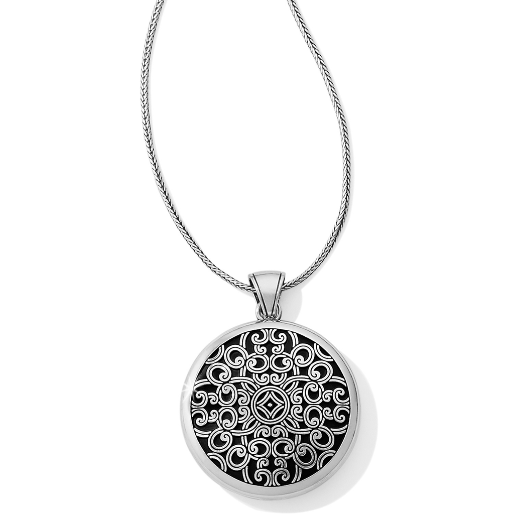 Serendipity Convertible Locket Necklace JM0940 Lockets Brighton