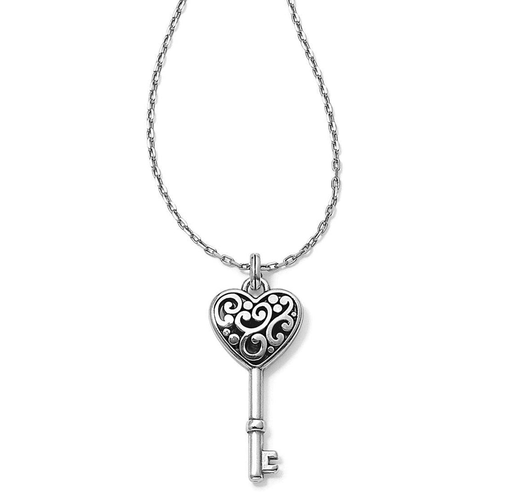 Contempo Heart Key Necklace JM0630