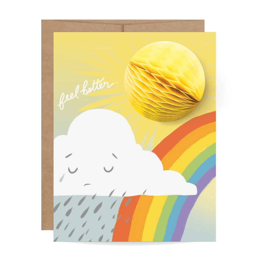 Sunshine Pop-up Card cards Johnathan Michael's Boutique