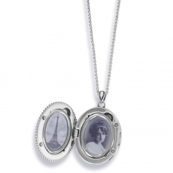 Fiona Convertible Locket Necklace JM3523 locket Brighton