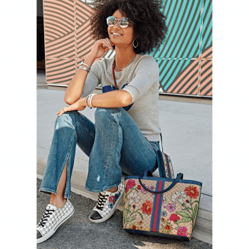 Field Of Love Large Tote H3751M