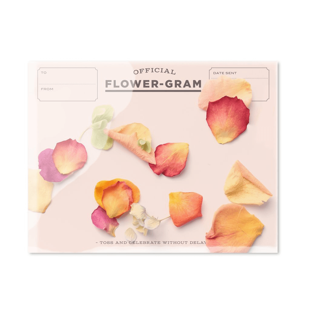 Flower gram - Peony, Rose + Hydrangea Card Card Johnathan Michael's Boutique