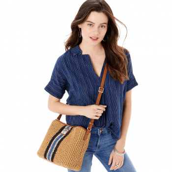 Rosie Cross Body Bucket Bag H73508