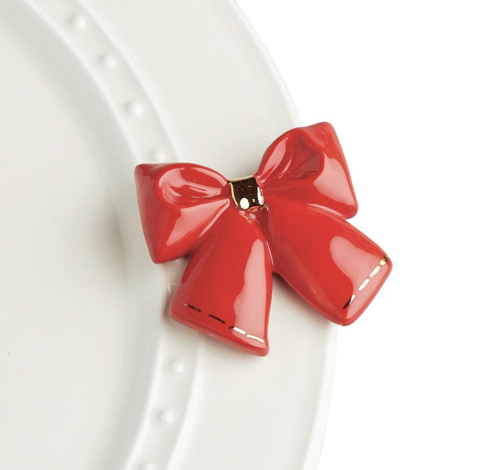 Wrap It Up Red Bow Mini A238 - Johnathan Michael's Boutique