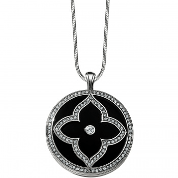 Toledo Alto Noir Convertible Locket Necklace JL9223 Lockets Brighton