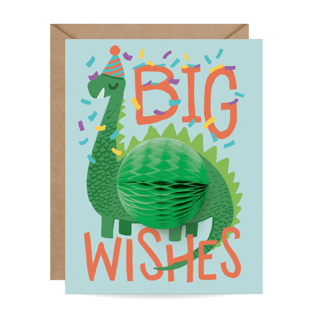 Dinosaur Pop-up Card cards Johnathan Michael's Boutique