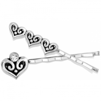 Alcazar Heart Bobby Pin Set J81960