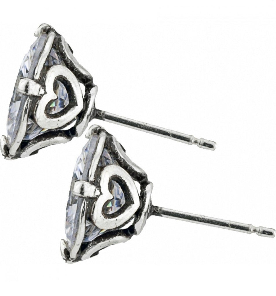 Brilliance 10MM Post Earrings JE154D - Johnathan Michael's Boutique