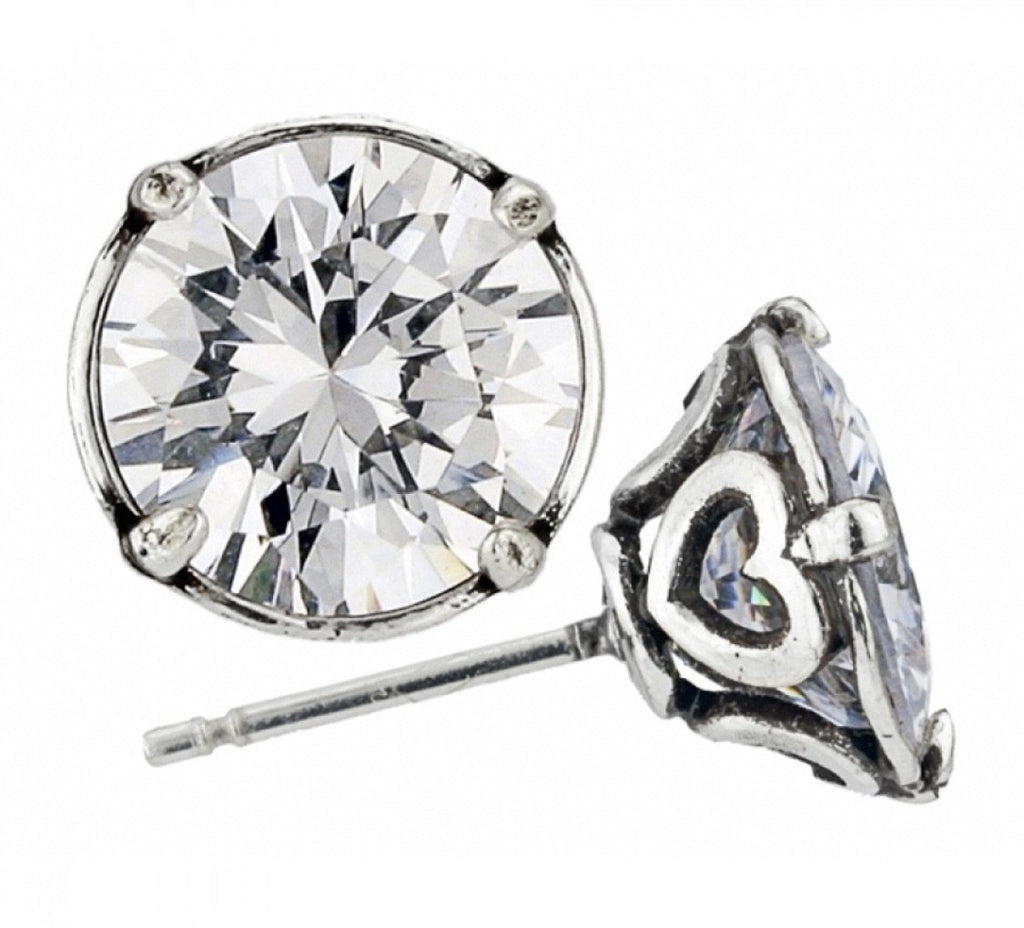 Brilliance 9MM Post Earrings JE154C - Johnathan Michael's Boutique