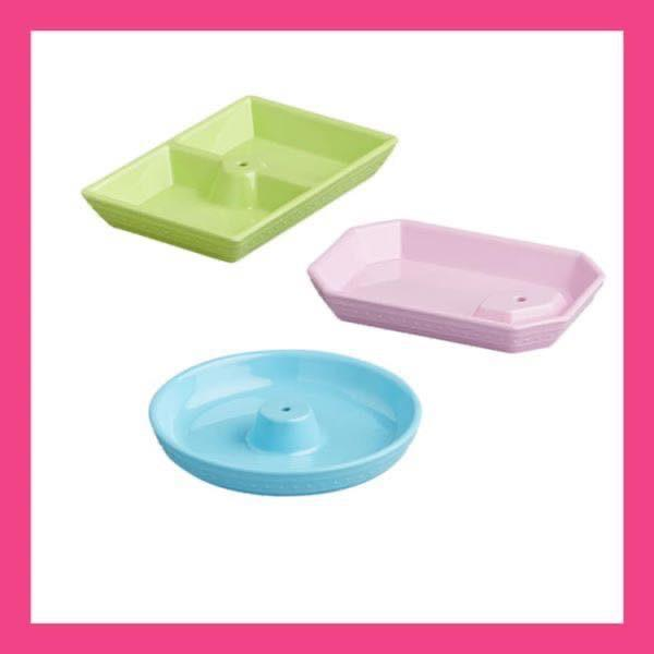 NEW Melamine Dainty Dishes Set MEL07 - Johnathan Michael's Boutique