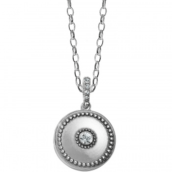 Twinkle Small Round Locket Necklace JL9331