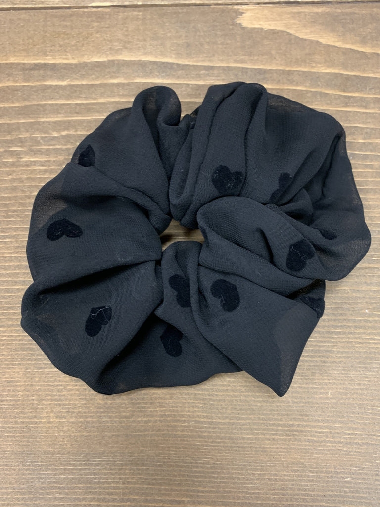 Beating Hearts Scrunchie - Johnathan Michael's Boutique