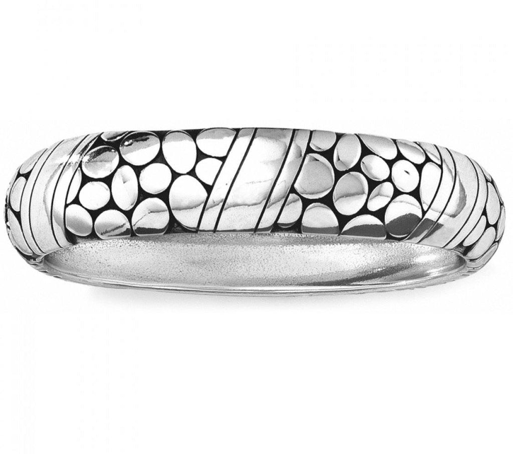 Pebble Rings Hinged Bangle JB3680
