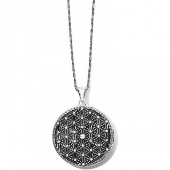 Flower Of Life Convertible Locket Necklace JM2891 Lockets Brighton
